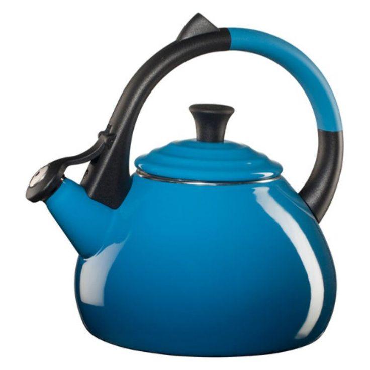 Le Creuset Oolong 1.9-qt. Enamel on Steel Whistling Teakettle - Marseille Blue - Q9700-59