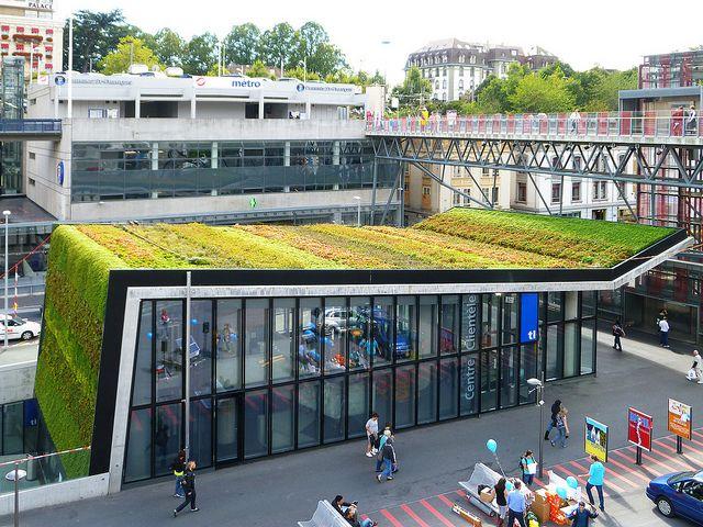 M2 Metro Station,  Lausanne - Switzerland