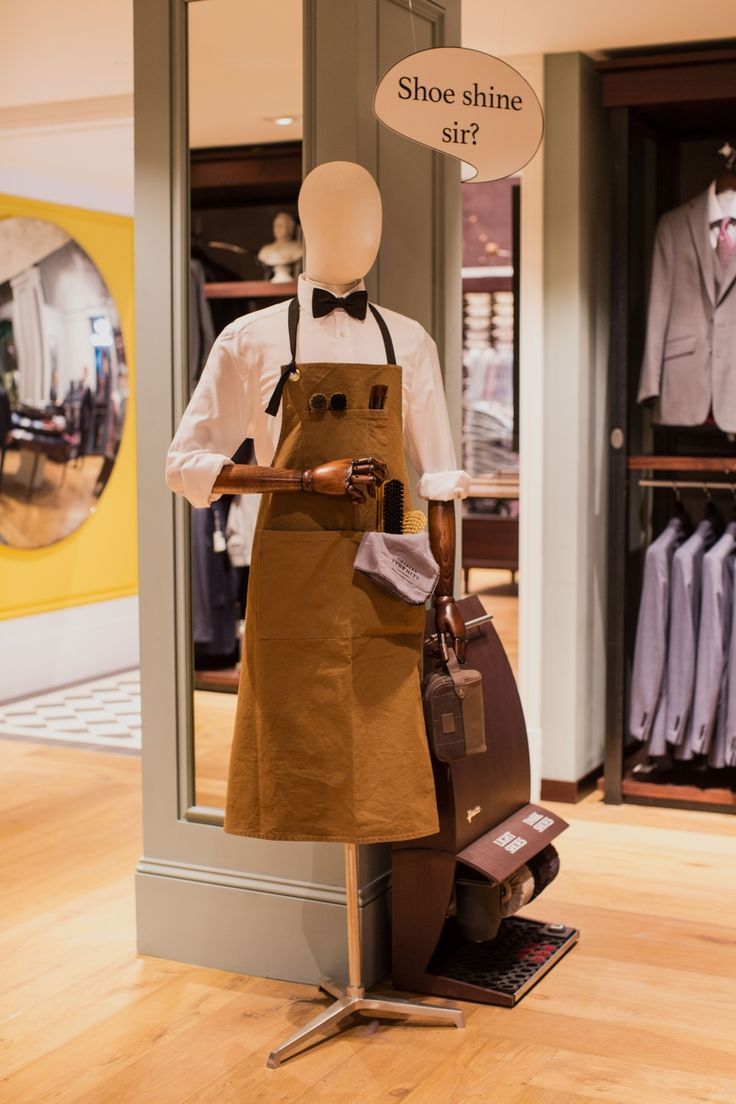 Charles Tyrwhitt Tooley Street Visual Merchandising #vm #visualmerchandising