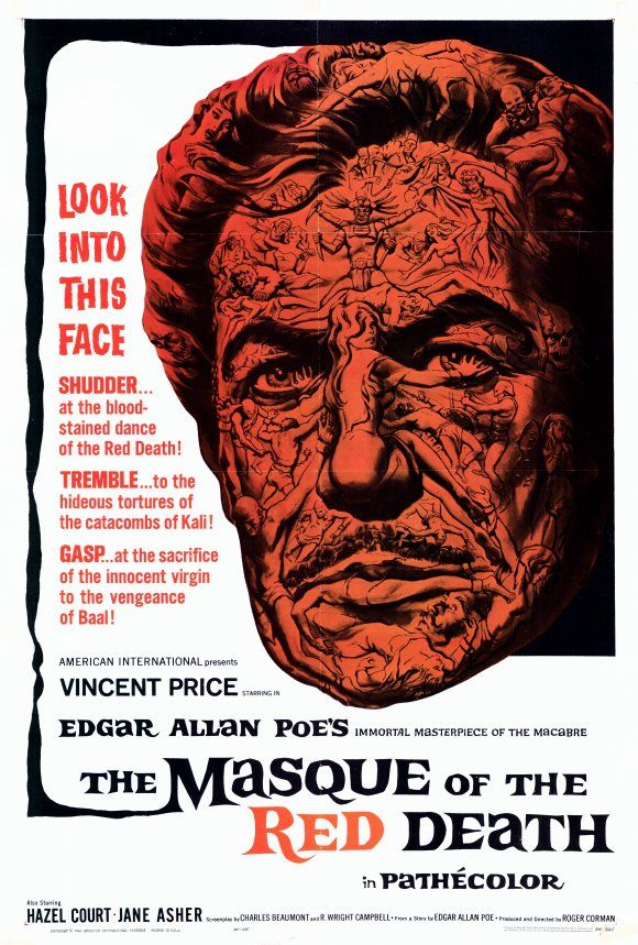 best poe images ap english death and art posters the masque of the red death 1964 corman price made for each other