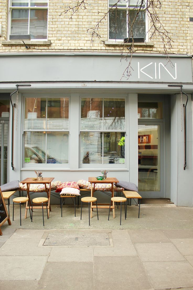 Kin cafe london - great for vegan and gluten free lunch.