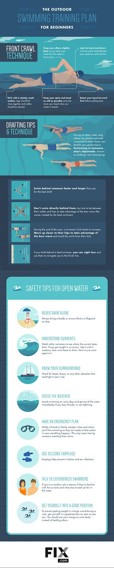 Looking to try open water swimming this summer? We have 5 tips to make your transition from the pool to the sea as smooth as your freestyle.