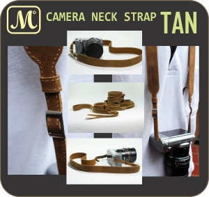 Neck Straps - Tan
