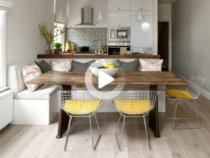 100 Unikale Ideen Fur Sitzecke In Der Kuche Archzine Net In 2020 Esstisch Design Kleines Essen Granit Esstisch