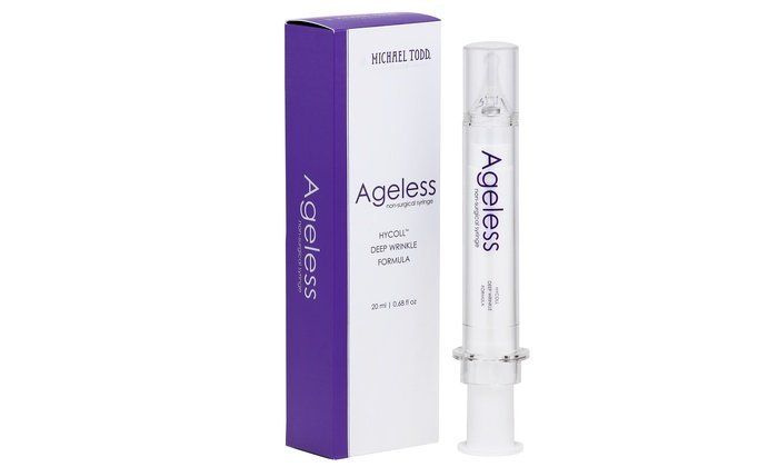 Michael Todd Ageless Serum Non-Surgical Syringe HYCOLL Deep Wrinkle Formula