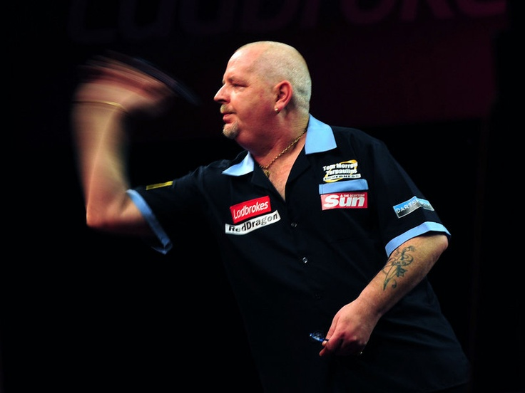 Robert Thornton was the first through to round two, comfortably beating Magnus Caris