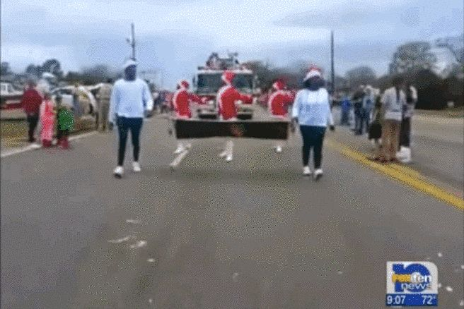 "The Prancing Elites — a self-described ""out and proud"" dance and cheerleading team from Mobile, Alabama — first made headlines in 2013 when a local Christmas parade accidentally invited them to dance, causing outrage in the community. 