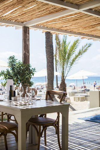 Beachouse Ibiza  Beach Lunch/Afternoon Restaurant