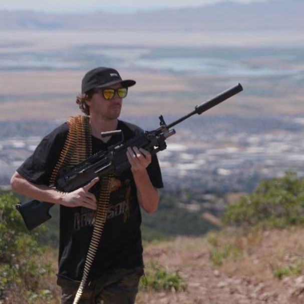 Californians like silencers, too. Check back for our newest FightTheNoise with professional skateboarder Greg Lutzka next Thursday. .  .  .  #skateboarding #fightthenoise #battleproven @fn_america @sogknives @freedommunitions @vertx_official @vortexoptics @greglutzka