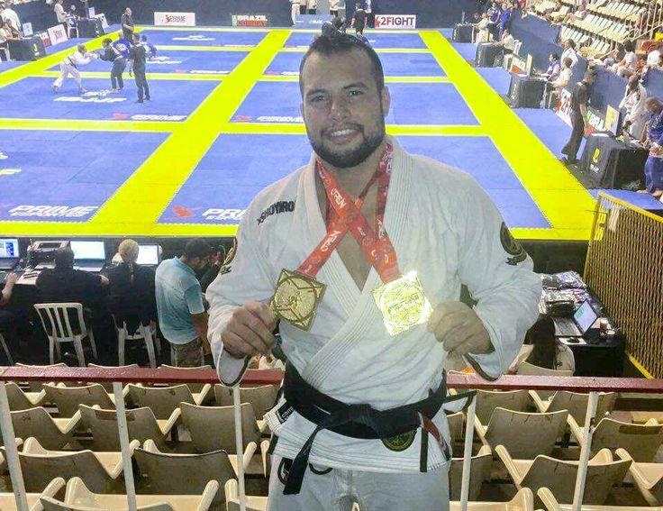 GMI: Faixa-preta Alberto Ramos comemora ouro duplo no Rio Open de Jiu-Jitsu
