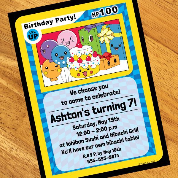 Best 25 Party city pokemon ideas – Party City Invitations for Birthdays