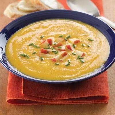 #Slowcooker Smokey Butternut Squash #Soup #recipe