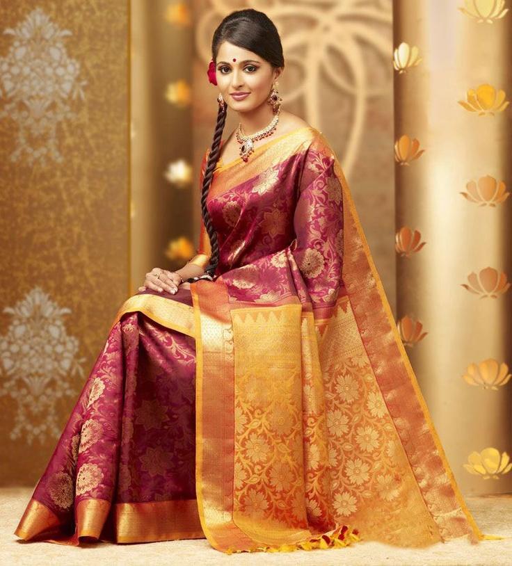 Silk sarees saree and silk on pinterest