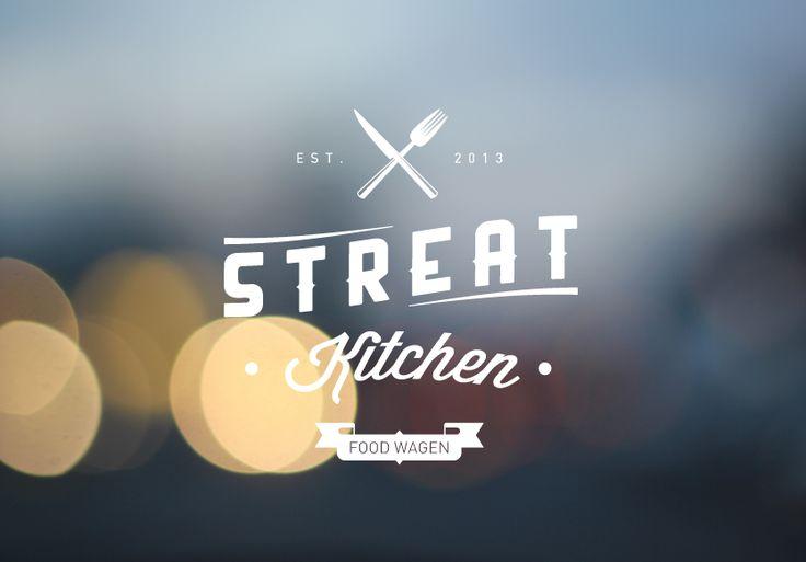Streat Kitchen  vinslëv © 2013  #logo #identity #branding