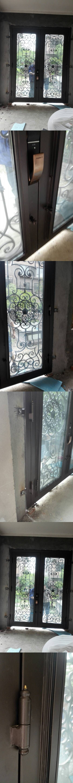 "Custom design 72"" x96""wrought iron doors direct shipping to home hench-id2"