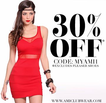 AMI Clubwear and Sexy Clothes. Up to 90% Clearance Sale! Everything must go!