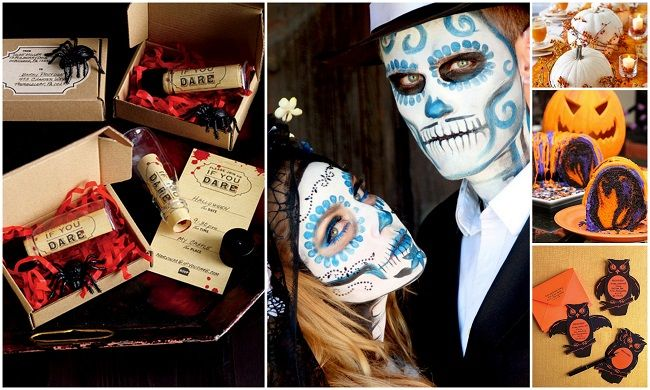 Halloween Wedding Ideas (6 Out Of The Box Wedding Theme Ideas That Are Still Untold!! Get Inspired) Visit Here to read more: https://www.123weddingcards.com/blog/6-out-of-the-box-wedding-theme-ideas/
