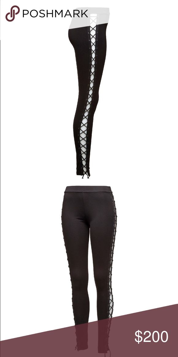 FentyxPuma Criss Cross leggings Super comfy Criss cross leggings from her line sigh puma Puma Pants Leggings