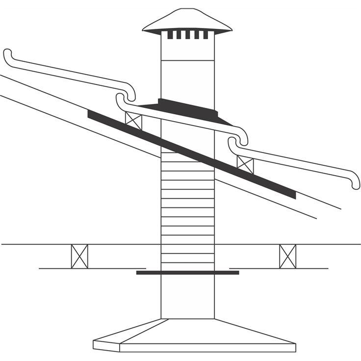 Flue Kit Rangehood Abey 125mm Tile Rhvt5