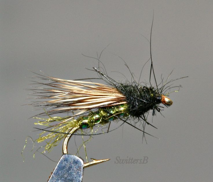 Fly Tying & Fishing: Mathew's X Caddis...Great Fly