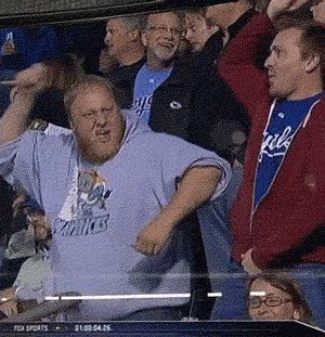 Whatever is happening here definitely happened. | The 89 Funniest Sports GIFs Of 2013 <-- Also turnt.
