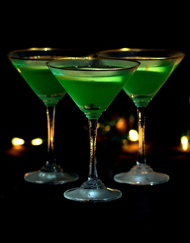 Green Apple Martini.... Emerald City: Spring Green, Apple Martinis ...