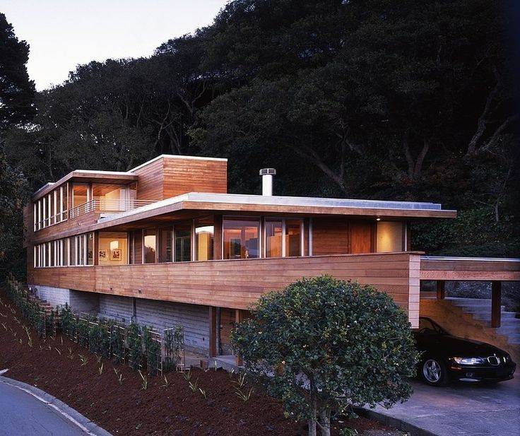 Modern Home in Sausalito by Swatt Miers Architects