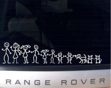 Best STICK FAMILY FIGURES Images On Pinterest Stick Family - Family car sticker decalsfamily car decals ebay