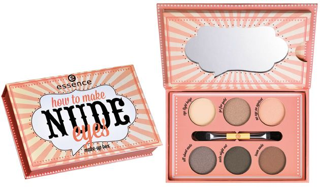 Essence 2014 Makeup Box in How To Make Nude Eyes