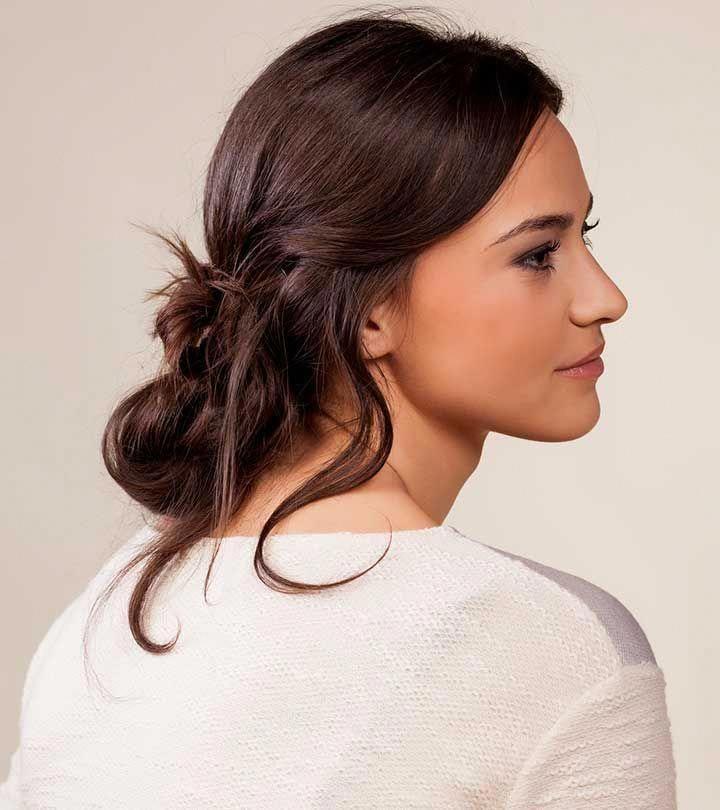 einfache Frisuren gekräuselt #Einfache Frisuren