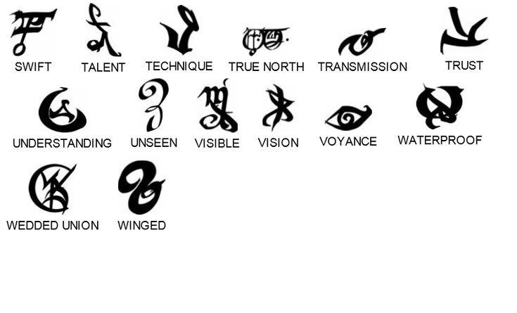 Runes - The Shadowhunters' Wiki - Wikia