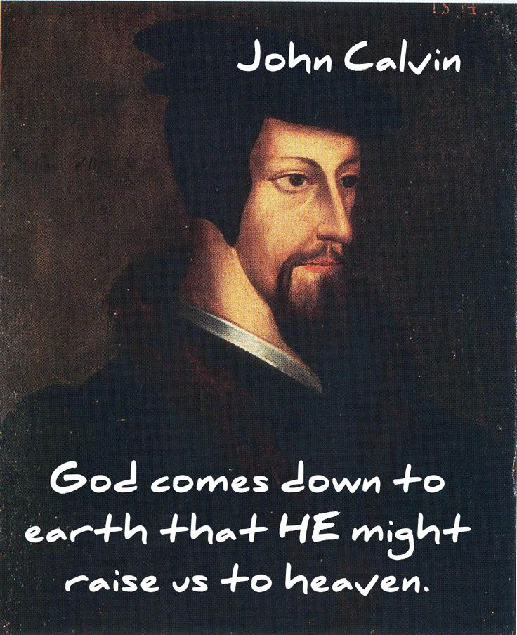 John Calvin quote on the incarnation.