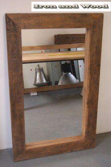 spiegel hardhouten wagondelen 131x82 lijst 12cm (1)