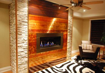 While Traditional Fireplaces Are Known For Their Natural