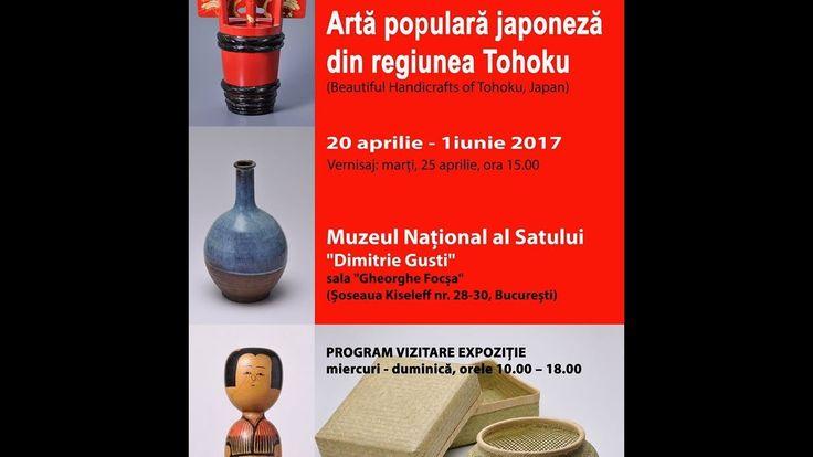 """""""Artă populară japoneză din regiunea Tohoku"""" la Muzeul Național al Satului """"Dimitrie Gusti"""""""