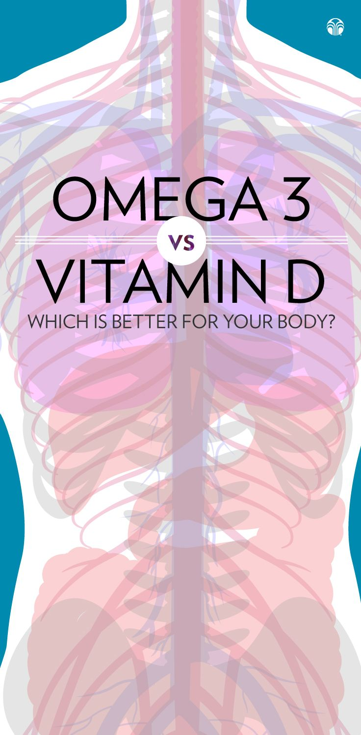 Vitamin D vs Omega 3 - Some surprising benefits of each that you may not be aware of!