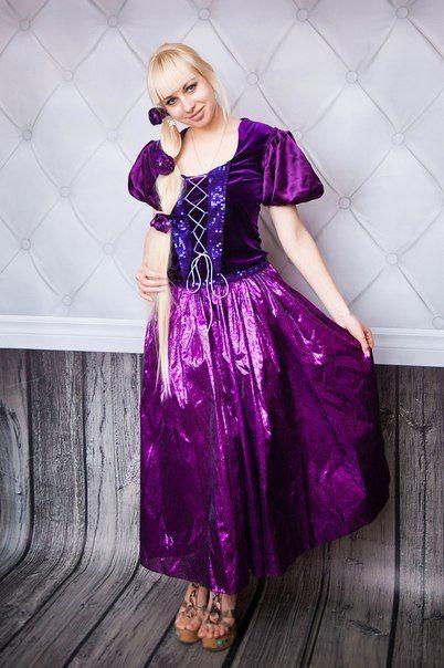 Принцесса Рапунцель на детском девичнике подарит атмосферу сказки!