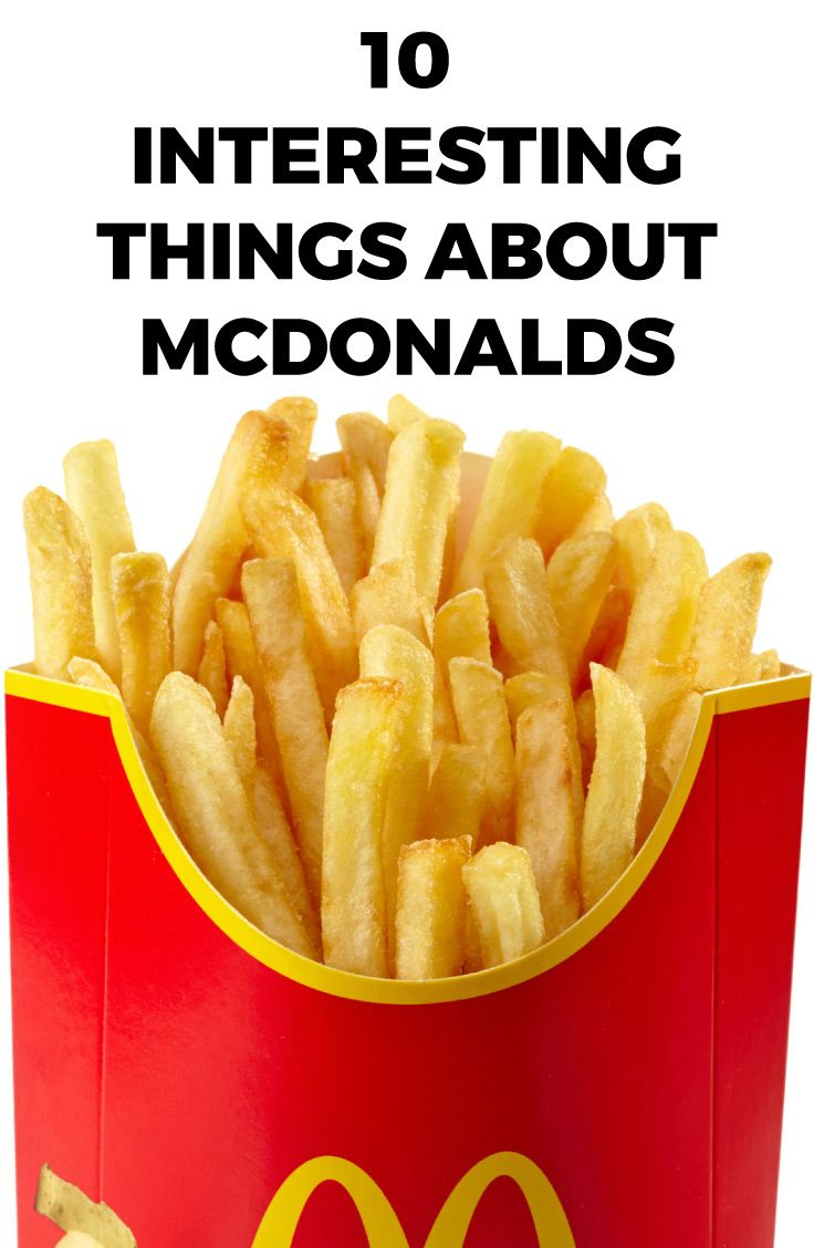 10 Interesting Things about McDonald's