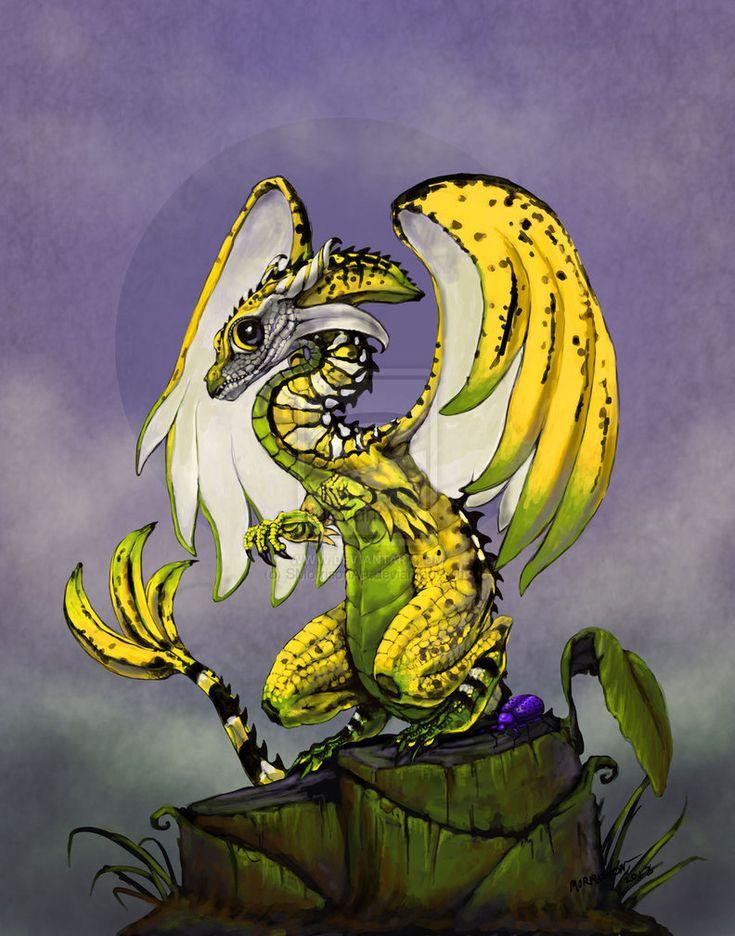 Banana Dragon by SMorrisonArt on DeviantArt