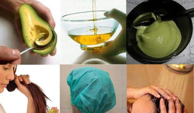 Mascarilla de aguacate y miel para el cabello seco: mezcla el puré de 1 aguacate maduro, con 1 cucharadita de miel y 2 cucharaditas de aceite de oliva. Mezcla bien hasta que quede cremoso y luego masajéala en tu cabello. Déjala actuar durante 20 minutos, preferible envuelta en una toalla caliente bajo un gorro de ducha para que penetre mejor, y luego aclara abundantemente con agua tibia. Los antioxidantes del aguacate ayudan a proteger el pelo de las agresiones del medio ambiente.