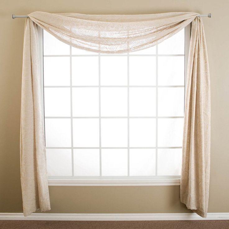 14 Best WINDOW SCARF IDEAS Images On Pinterest