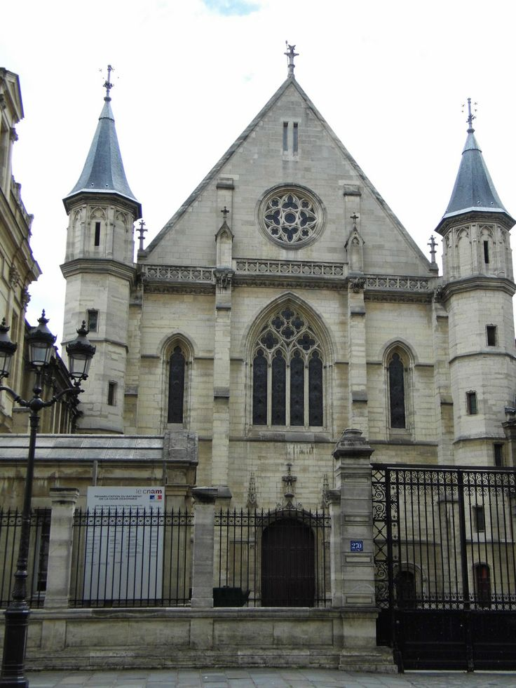 In the CNAM Paris: A walk between Porte St-Martin and Fontaine St-Michel.Click for more infos and photos.