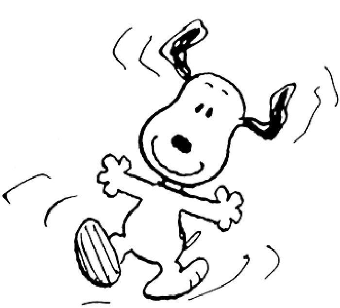 Desenhos do Snoopy e turma para colorir pintar imprimir - Espaço Educar desenhos para colorir