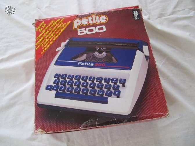 """Machine à écrire """"petite 500"""" (Jeu et Jouet)"""