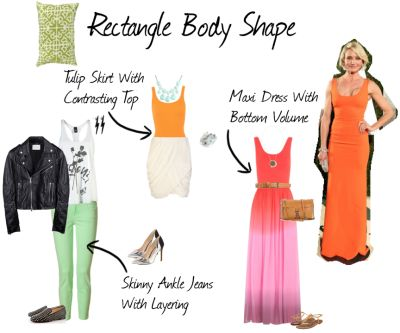 With the high-waisted trend currently in, us girls with curves envy the rectangular body shape. You can wear and get away with (almost) anything! If you have a rectangle body shape, you have more o…