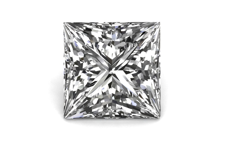 Princess Cut @bensimondiamond #giveadiamond