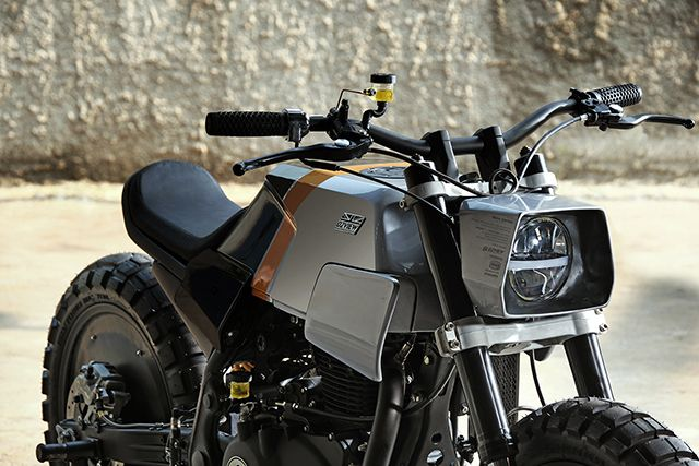 TOUGH PROPOSITION: Royal Enfield Himalayan by Julian Palapa