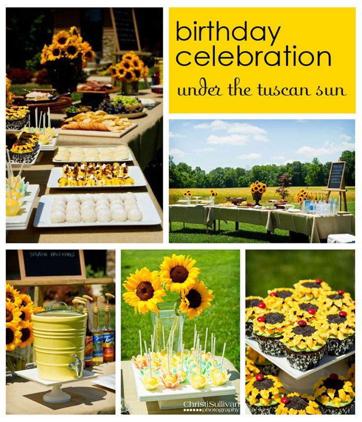 24 best A Party Sunflower images on Pinterest | Sunflower floral ...