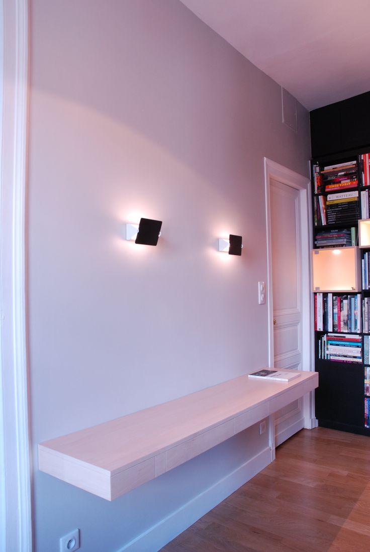 1000 id es sur le th me bureau suspendu sur pinterest bureaux bureau et suspendu. Black Bedroom Furniture Sets. Home Design Ideas