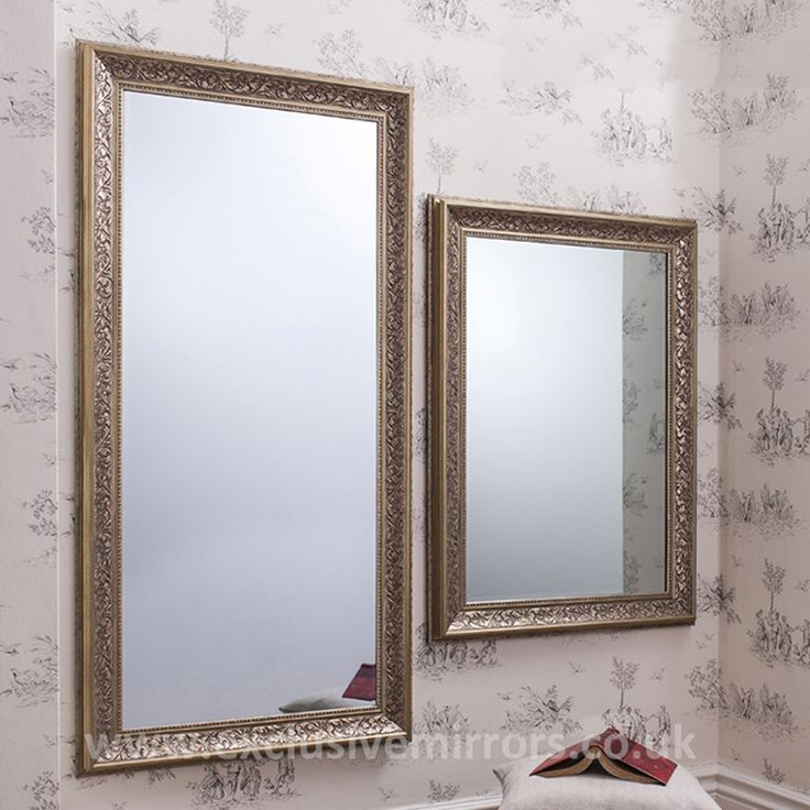 Milly antiqued champagne mirror. As seen on Cowboy Builders & Bodge Jobs.